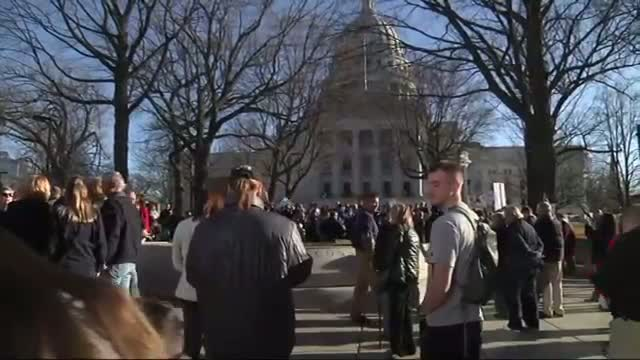 Separate Rallies Linked to Wis. Police Shooting