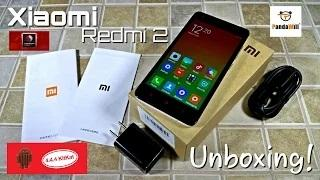 Xiaomi Redmi 2 - [UNBOXING] - Snapdragon 410 - 4G LTE - 64Bit - 4.4.4 MIUI 6.2