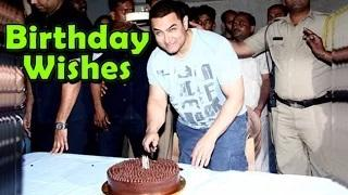 Bollywood celebrities have showered Birthday wishes for Mr. Perfectionist Aamir Khan. Check out the video to know more.