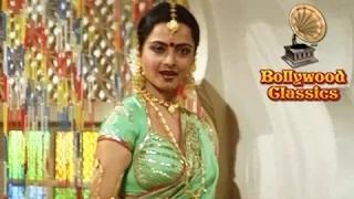 Mere Ghungroo Mujhe De Do - Maati Maangey Khoon (1984) - Asha Bhosle Hit Songs - Rekha Songs [Old is Gold]
