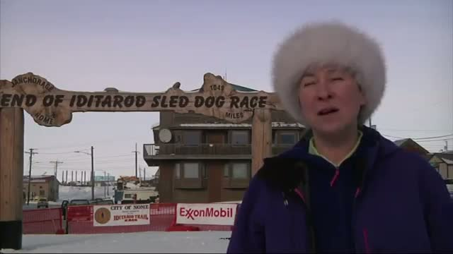 Nome Readies for Iditarod Finish Video
