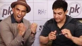 Ranveer Singh LOVES Aamir Khan despite his stand AIB ROAST