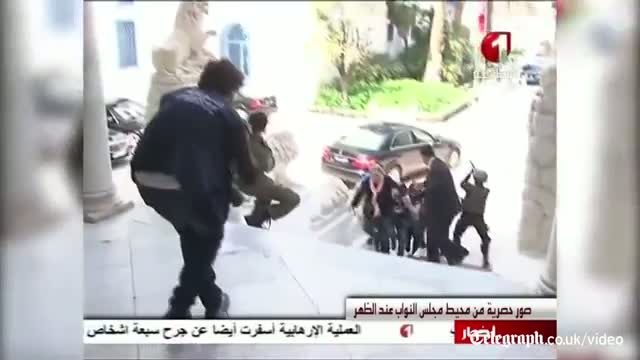 People fleeing gun attack in Tunisia