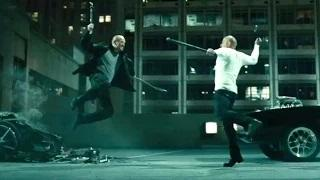 Furious 7 Movie CLIP - Vin Diesel Fights Jason Statham (2015) Action HD