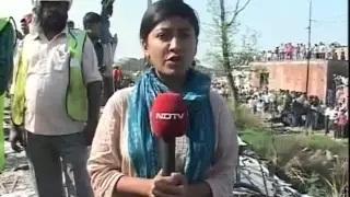 30 die as train derails near Rae Bareli in Uttar Pradesh, 50 people injured