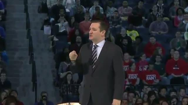 Texas' Cruz Kicks Off Presidential Run