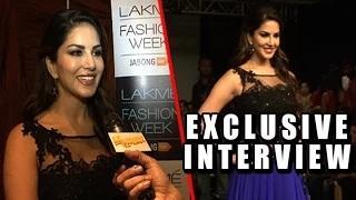 Sunny Leone On 'LEELA' And Fashion | Lakme Fashion Week 2015