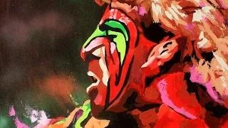 The Ultimate Warrior runs to the canvas - WWE Canvas 2 Canvas