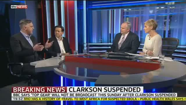 Jeremy Clarkson Suspended By BBC Over 'Fracas' video