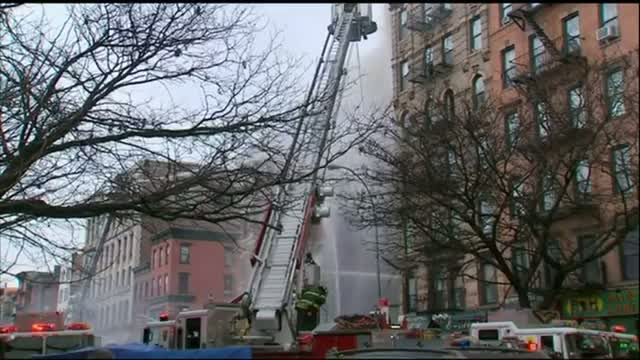 Injuries Reported in NYC Building Fire
