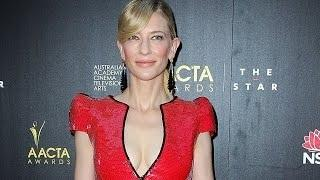 CATE BLANCHETT Lets Loose on Reporter