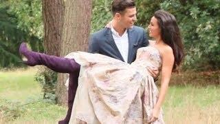 Behind the scenes of Michelle Keegan and Mark Wright's beautiful HELLO! photo shoot