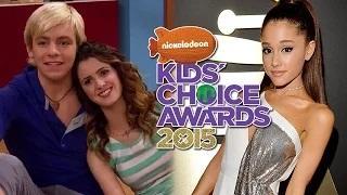 2015 Kids' Choice Awards Nominations - Ariana Grande, Taylor Swift, Austin & Ally