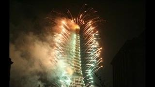 126 Anniversary of the public opening of thr Eiffel Tower HD