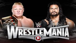 Roman Reigns vs Brock Lesnar (Full Match) - WWE Wrestlemania 31