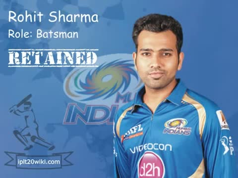 IPL 2015 Mumbai Indians (MI) : Players Retained / Released