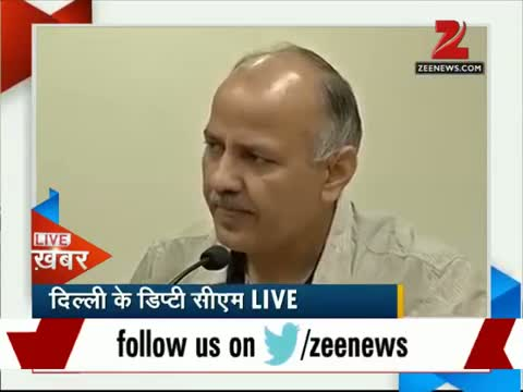 Unauthorised colonies: Manish Sisodia holds a press conference