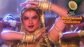 Prem Hai Radha Prem Hai Meera - Qila (1998) - Sadhana Sargam Songs - Rekha Songs [Old is Gold]