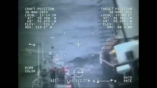Coast Guard Rescues Schooner Crew