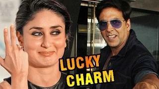 Kareena is Akshay Kumar's LUCKY CHARM!!