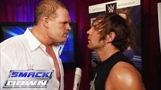 Kane punishes Dean Ambrose by putting him in a match against Luke Harper: WWE SmackDown, April 2, 2015