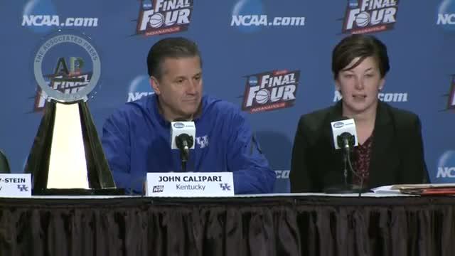 UK's John Calipari Wins AP Coach of the Year