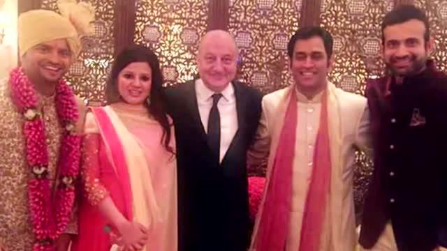 Irfan Pathan ATTENDS Suresh Raina's WEDDING