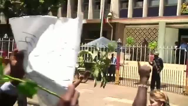 Kenyans Protest Against Al-Shabab Militants