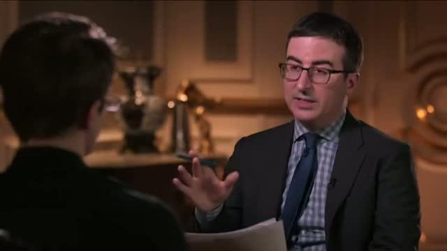 HBO's John Oliver Interviews Edward Snowden