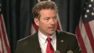 Rand Paul Announces He's Running For President in 2016
