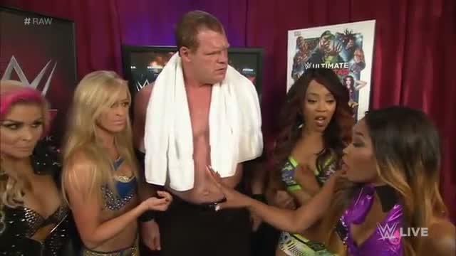 Kane gives Divas a chance: WWE Raw, April 6, 2015