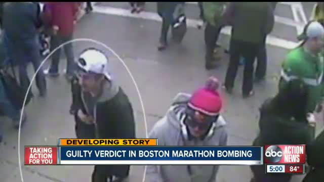 Boston Marathon bomber Dzhokhar Tsarnaev found guilty on all 30 counts
