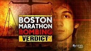 Dzhokhar Tsarnaev Guilty on All 30 Counts in Boston Marathon Bombing