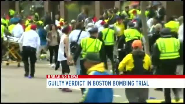 Dzhokhar Tsarnaev found guilty in Boston Marathon bombing