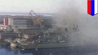 Nuclear submarine accident: Russian sub catches fire during repairs in Zvezdochka shipyard