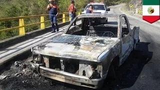 Ambushed: 15 police officers killed in suspected gang attack in Mexico, 5 others injured