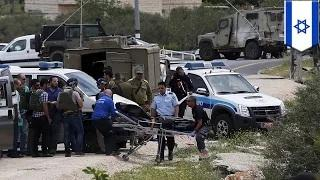 Palestinian stabs two Israeli soldiers in the West Bank before one shoots him dead