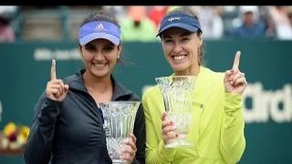 2015 Family Circle Cup Doubles Final WTA Highlights | Martina Hingis & Sania Mirza