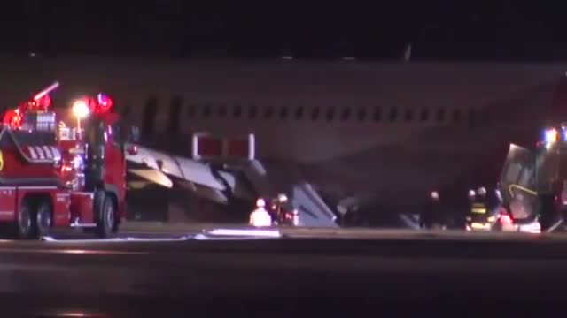 Injuries After Plane Veers of Japan Runway