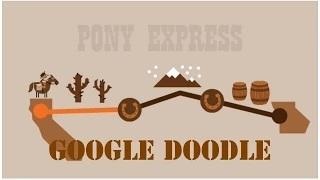 Pony Express: When was the first mail delivered via the pony express - Google Doodle
