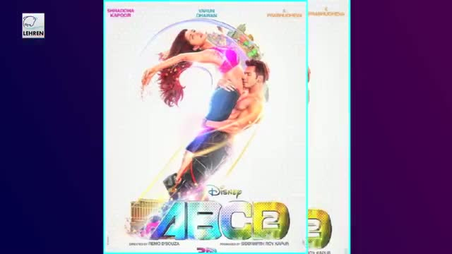 Official POSTER | ABCD2 | Varun Dhawan, Shraddha Kapoor | FIRST LOOK