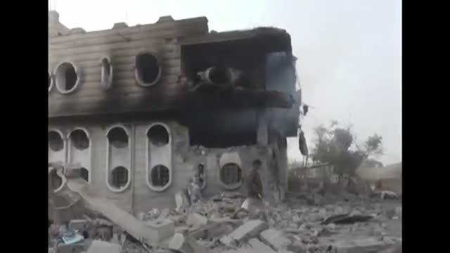 Airstrikes Hit Gas Station in Yemen