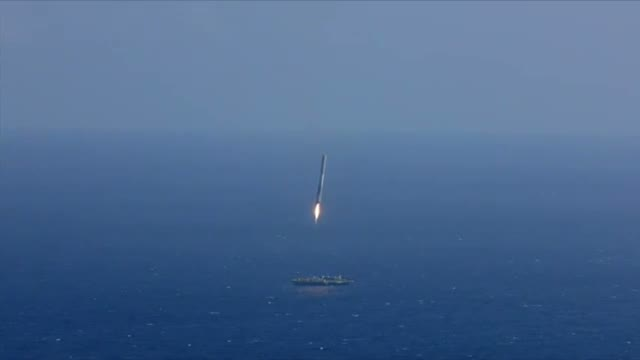 SpaceX Landing Fails Video