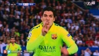 Luis Suarez 2nd Amazing Goal vs PSG - PSG vs Barcelona 2015 1-3