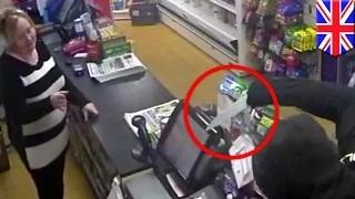 Robbery gone wrong as knife-wielding man finds store clerk is his ex-girlfriend's mom