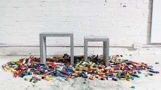 How to Make DIY Concrete Nesting Tables with Legos