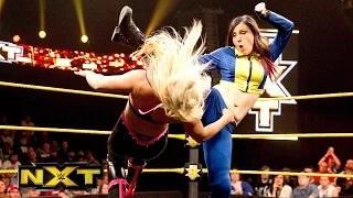Dana Brooke vs. Blue Pants: WWE NXT, April 15, 2015