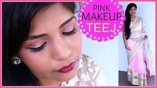 Indian TEEJ FESTIVAL Indian Makeup Tutorial