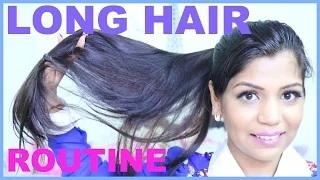 LONG HAIR Care Routine For Shiny & Healthy Hair