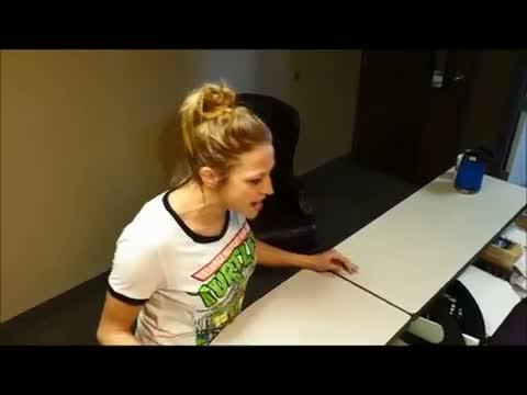 Samm Adams Does Her Best Britt McHenry Reenactment